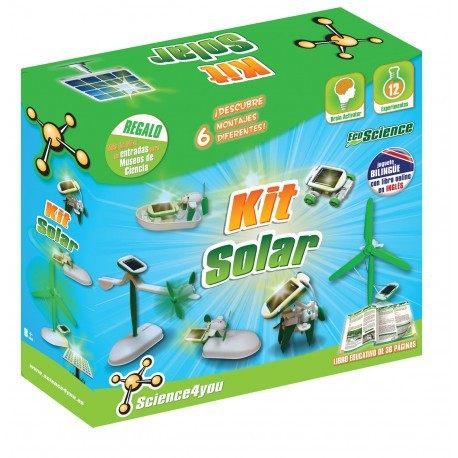 Kit solar 6 en 1