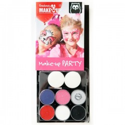 Maquillaje facial fantasy make up girls Eurekakids
