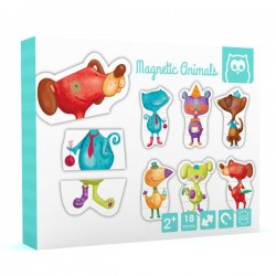 Puzle magnetic animal