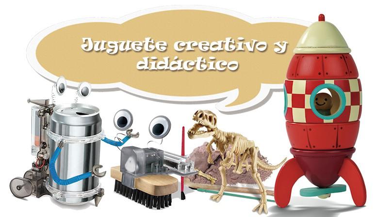 Juguete creativo y didáctico